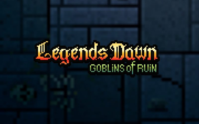 Logo art for Legends Dawn: Goblins of Ruin RPG mobile game